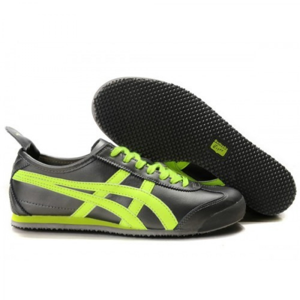 Chaussures 613576 Green Noires Mexico Light Lauta Asics E9HIYWD2