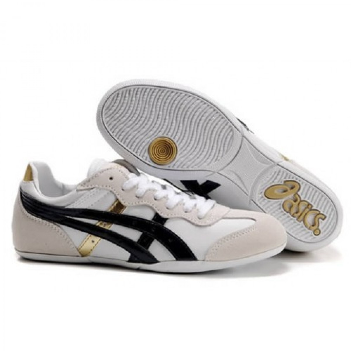 asics chaussures blanche