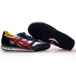 Pour Acheter JM1334 Soldes Asics 60e anniversaire Chaussures Blanc Bleu1270 foncé Rouge 18987431 Pas Cher