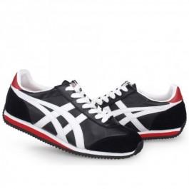 Pour Acheter WX0028 Soldes Asics California 78 Cha1114ussures en cuir noir blanc rouge 79521987 Pas Cher