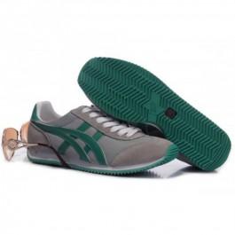 Pour Acheter BM0700 Solde1218s Asics California Chaussures Gris Vert Pour Femmes 36455145 Pas Cher
