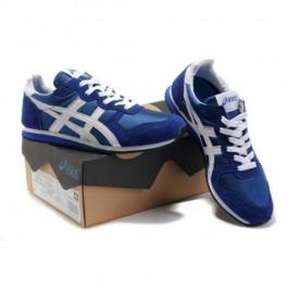 Pour Acheter CV2475 Soldes Asics Corrid1971o Sneakers Chaussures Blanc Bleu 33815423 Pas Cher