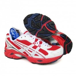 Pour Acheter PT5087 S1381oldes Asics Gel DuoMax Chaussures Blanc Rouge 93333397 Pas Cher