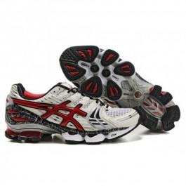 Pour Acheter BD9249 Soldes As1937ics Gel Kinsei 2 Chaussures Blanc Rouge Noir 51692882 Pas Cher