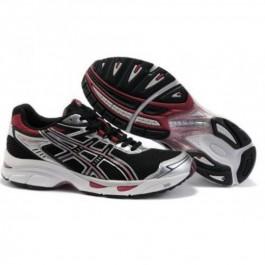 Pour Acheter XU3193 S1755oldes Asics Gel Virage 4 Chaussures Hommes Noir Rouge 79453163 Pas Cher