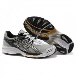 Pour Acheter LO8125 Soldes Asics Gel V1398irage 4 Chaussures de course Blanc Argent Jaune Pour Hommes 48794117 Pas Cher