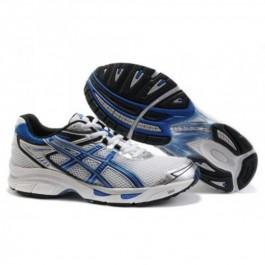 Pour Acheter OY2816 Solde1646s Asics Gel Virage 4 hommes Chaussures de course Blanc Bleu 98875472 Pas Cher