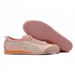 Pour Acheter BD6225 Soldes Asics Mexico 66 Chaussures Hommes Rose Blanc 1463Orange 54322751 Pas Cher