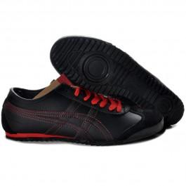 Pour Acheter JQ7439 Solde1872s Asics Mexico 66 Deluxe Homme noir rouge 82279467 Pas Cher