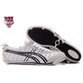 Pour Acheter GM0573 Soldes Asics Mini1623 Cooper Chaussures Blanc Argent Noir 20772753 Pas Cher