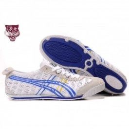 Pour Acheter HZ5421 Soldes Asics Mini Cooper Chau1109ssures Blanc Bleu Jaune 10602671 Pas Cher
