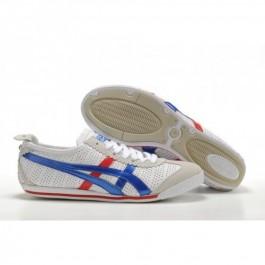 Pour Acheter UU18952225 Soldes Asics Mini Cooper Chaussures Blanc Bleu Rouge 86860502 Pas Cher