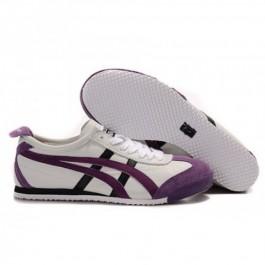 Pour Acheter KY4381 Soldes Asics Onitsuka1301 Tiger Femmes Mexico 66 Blanc Violet Noir 54832857 Pas Cher