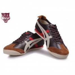 Pour Acheter XC9281 Soldes Asics Onitsuka Tiger Kanuchi Brown1864 Beige Red Shoes 47772575 Pas Cher