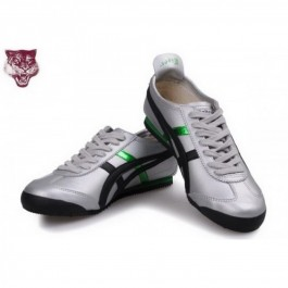 Pour Acheter NM4459 Soldes Asics Onitsuka 1851Tiger Kanuchi Chaussures Vert Argent noir 77242397 Pas Cher