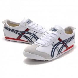 Pour Acheter FB8207 Soldes Asics Onitsuka Tiger Mexico1757 66 Blanc Bleu Rouge 05639947 Pas Cher