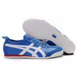 Pour Acheter WB6912 Soldes Asics Onitsuka Tiger Mexico 66 Blanc Bleu marine Red Shoes 091239417870 Pas Cher