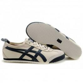 Pour Acheter YJ5296 Soldes Asics Onitsuka Tiger Mexico 66 Chaussures Beige Bleu foncé Pour Femmes 918891159228 Pas Cher