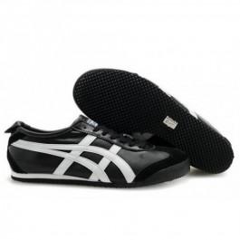 Pour Acheter M1058E6262 Soldes Asics Onitsuka Tiger Mexico 66 Chaussures Noir Blanc pour Femmes 52865880 Pas Cher