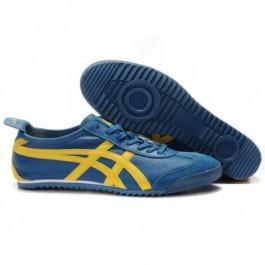 Pour Acheter ZK7050 Soldes Asics Onitsuka Tiger Mexico 105566 Deluxe jaunes Chaussures Blue Ocean 43283696 Pas Cher