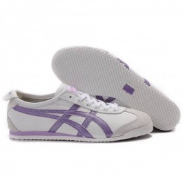 Pour Acheter TU11839507 Soldes Asics Onitsuka Tiger Mexico Womens 66 Chaussures Violet Blanc 89212201 Pas Cher