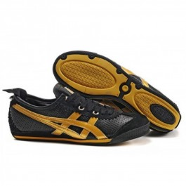 Pour Acheter TB1092 Soldes Asics Onitsuka Tiger Mini Cooper Black or Chaussures 311853800039 Pas Cher