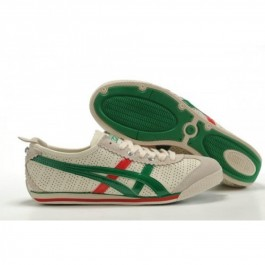 Pour Acheter XY3770 Soldes Asics Onitsuka Tiger Mini Cooper Chaussures Rouge Vert Beige 900395015415 Pas Cher