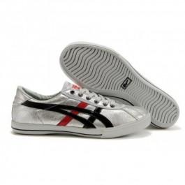 Pour Acheter OW9749 Soldes Asics Onitsuka Tiger 1207Rotation 77 Chaussures Argent Noir Rouge 11374838 Pas Cher