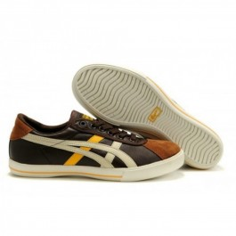 Pour Acheter JA0030 Soldes Asics Onitsuka Tiger Rotation 77 Chaussures Chocolat Jaune Bl1861anc 97269407 Pas Cher