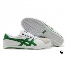 Pour Acheter OY1649 Soldes Asics R1039otation 77 Chaussures Blanc Vert 57275419 Pas Cher