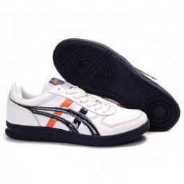 Pour Acheter GK45821837 Soldes Asics Top Seven Chaussures Blanc Navy Blue Orange 51065191 Pas Cher