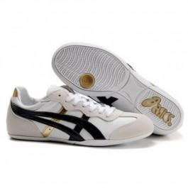 Pour Acheter OE0747 Soldes Asics Whizze1932r Lo chaussures blanches Soft Black Or Gris 90144585 Pas Cher