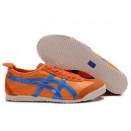 Pour Acheter ME2597 Chaussures Soldes Asics Onitsuka Tiger Mexico 66 Femmes d'Orange Bleu Royal 481358321551 Pas Cher
