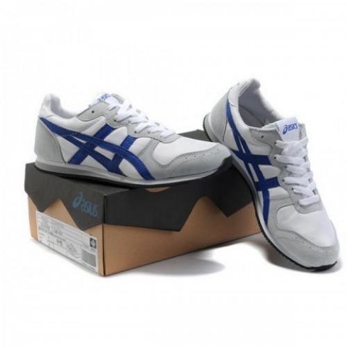 Pour Acheter VK5804 Soldes Asics Corrido Sneakers Cha1673ussures Blanc Gris Bleu 36137794 Pas Cher