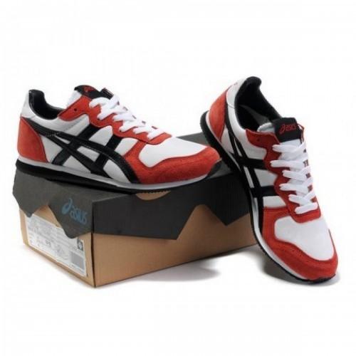 Pour Acheter PW6993 Soldes Asics Corrid1236o Sneakers Chaussures Blanc Rouge Noir 60988358 Pas Cher