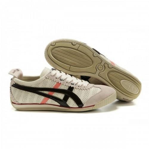 Pour Acheter ZY1926 Soldes Asics Onitsuka Mi1850ni Cooper chaussures noires Beige Rose 84551752 Pas Cher