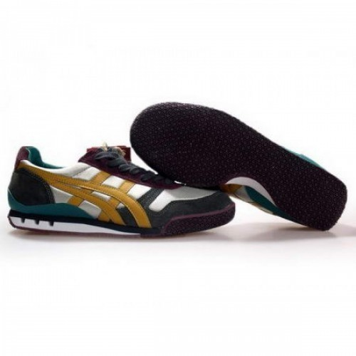 Pour Acheter NH53731982 Soldes Asics Onitsuka Tiger 60e anniversaire Chaussures Blanc Jaune Vert Noir 31928768 Pas Cher