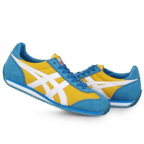 Pour Acheter YR4792 Soldes Asics Onitsuka Tiger Cali1524fornia 78 Chaussures Jaune Blanc Bleu 06025144 Pas Cher