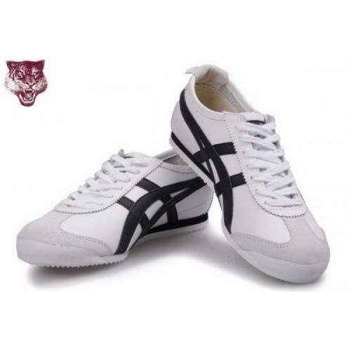 Pour Acheter KM6973 Soldes Asics Onitsuka Tiger Kanuchi1456 Blanc Noir 19548583 Pas Cher
