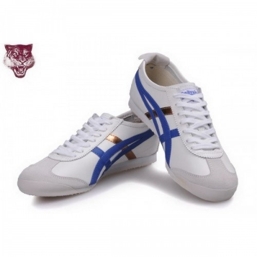 Pour Acheter US3833 Soldes Asics Onitsuka Tige1753r Kanuchi Chaussures Blanc Bleu Or 38972968 Pas Cher