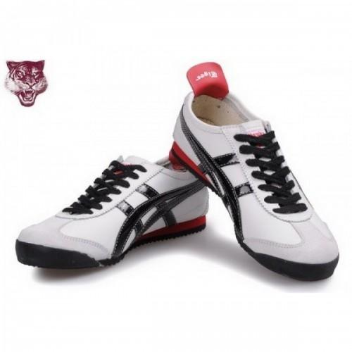 Pour Acheter YT9593 Soldes Asics O1920nitsuka Tiger Kanuchi Chaussures Noir Blanc Rouge 46310400 Pas Cher