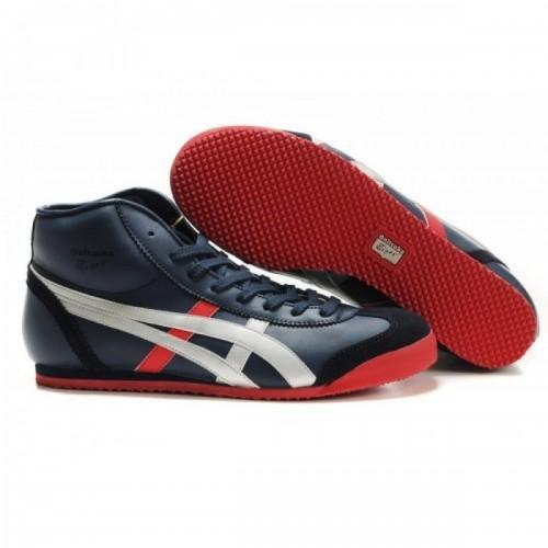 Pour Acheter WK5385 Soldes Asics Onitsuka Tiger Mexico 66 Mid Femmes Runner Chaussures Noir Blanc 829861402174 Pas Cher