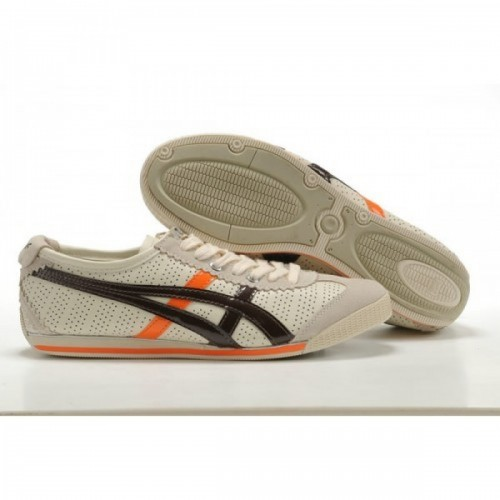 Pour Acheter RR3584 Soldes Asics Onitsuka Tiger Mini Cooper Chaussures Blanc Orange Brown1297 57608831 Pas Cher