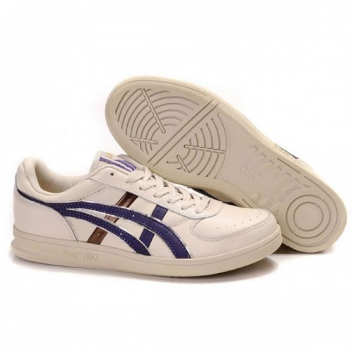 Pour Acheter VI2647 Soldes Asics Onitsuka Top Sept1631 Chaussures Beige Violet Or 48237145 Pas Cher