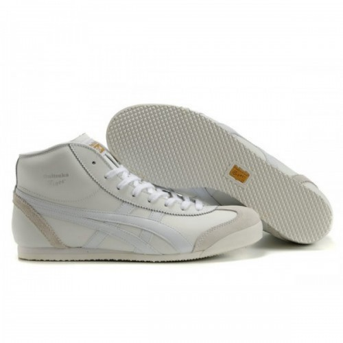 Pour Acheter YV8625 Soldes Asics Tiger Mexico 66 Mid Runner Chaussures Blanc 19864118 Pas Cher