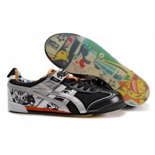 Pour Acheter BD9404 Soldes Asics Tiger Tokidoki Mex Lo Chaussures Argent Noir Orange 953169317643 Pas Cher