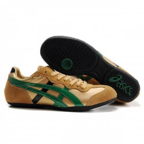 Pour Acheter NV3337 Soldes Asics Whizzer Lo Chaussures Or Vert Noir 701539874073 Pas Cher
