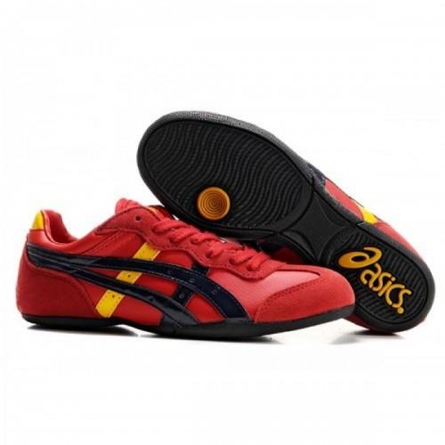 Pour Acheter FF9345 Soldes A1778sics Whizzer Lo chaussures rouges Bleu foncé Jaune 51363289 Pas Cher
