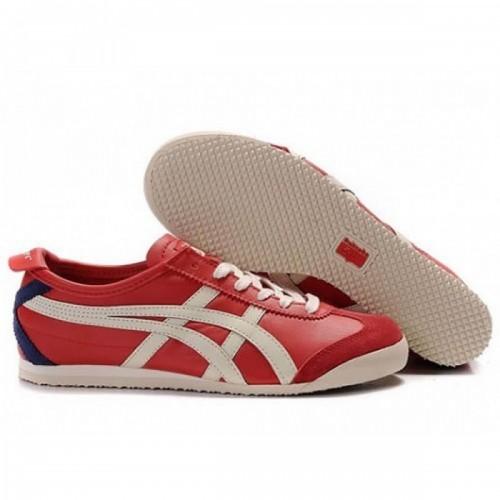 Pour Acheter HJ0460 Chaussures Soldes Asics Mexico 66 Femme Rouge Beige Bleu Marine 263256912156 Pas Cher