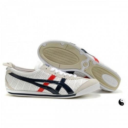 Pour Acheter DR5354 Chaussures Soldes Asics On1789itsuka Mini Cooper Femmes Blanc Noir Rouge 41001693 Pas Cher